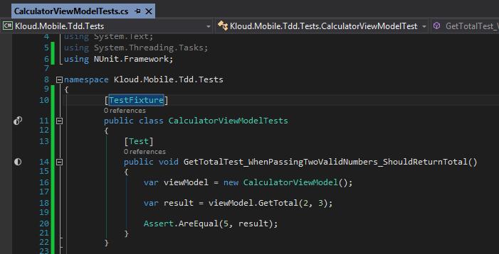 dd Mobile Common Tests Visual_Studio